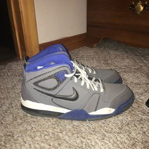 Gray Nike Flights